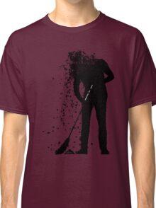 broom man Classic T-Shirt