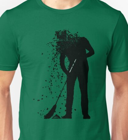 broom man Unisex T-Shirt