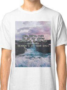 Lana Del Rey Lyrics Classic T-Shirt