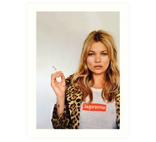 Kate for Supreme Media Cases, Pillows, and More. Art Print