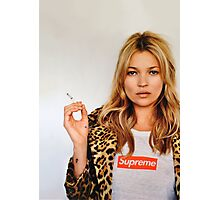 Kate for Supreme Media Cases, Pillows, and More. Photographic Print