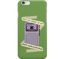 Peridot things worth protecting  iPhone Case/Skin