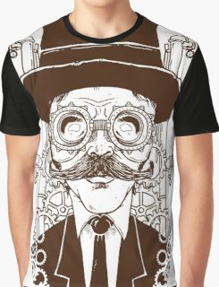 Steampunk man Graphic T-Shirt