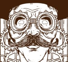 Steampunk man Sticker