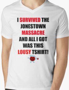 jonestown Mens V-Neck T-Shirt