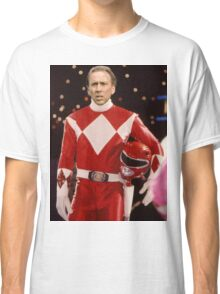 Nick Cage Red Ranger Classic T-Shirt