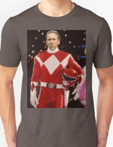 Nick Cage Red Ranger Unisex T-Shirt