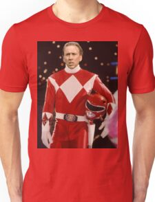 Nick Cage Red Ranger Unisex T-Shirt