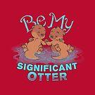 Otter Valentine by dooomcat