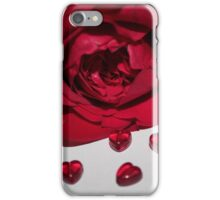 Hearts and rose iPhone Case/Skin