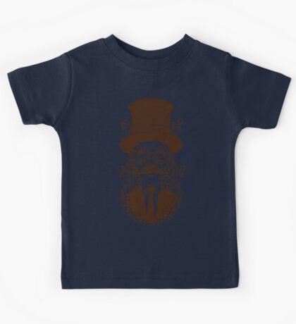 Steampunk man Kids Tee