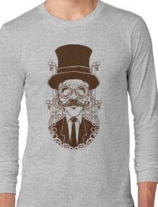 Steampunk man Long Sleeve T-Shirt