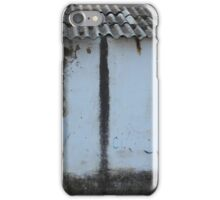 Old House With Shuttered Window iPhone Case/Skin