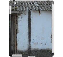 Old House With Shuttered Window iPad Case/Skin