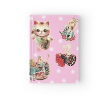Alice in Foreignland Pink Hardcover Journal