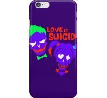 Love is Suicide iPhone Case/Skin