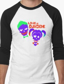 Love is Suicide Men's Baseball ¾ T-Shirt
