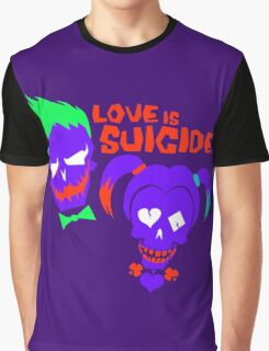 Love is Suicide Graphic T-Shirt