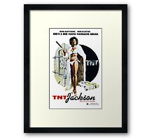 TNT Jackson Framed Print