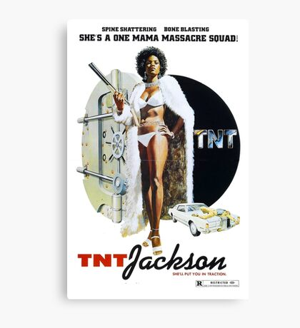 TNT Jackson Canvas Print