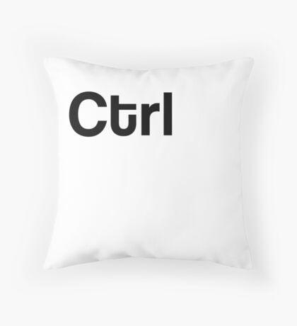 Ctrl Keyboard Laptop Computer Throw Pillow