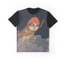 Captain Enthusiasm Graphic T-Shirt