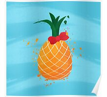 A cute pinapple Poster