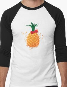 A cute pinapple Men's Baseball ¾ T-Shirt