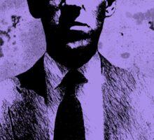 H. P. Lovecraft Tribute (violet) Sticker