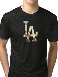 LA Dodgers 4 Tri-blend T-Shirt