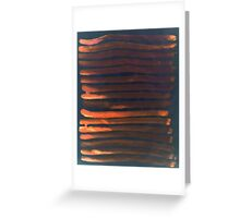 We Have Copper Dreams at Night Greeting Card