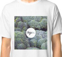 Vegan. - Broccoli Fill Classic T-Shirt