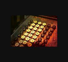 Antique Adding Machine Keys - photography Unisex T-Shirt