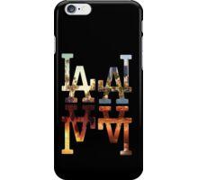 LA Dodgers 4-in-1 Black 2 iPhone Case/Skin