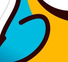 Chubby Blue & Gold Macaw Sticker