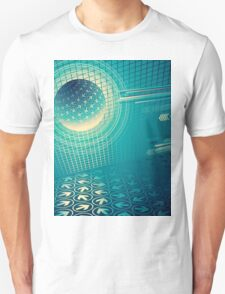 arrow motion with Business background T-Shirt