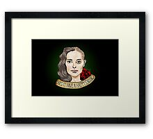 Does it have a happy ending? Framed Print