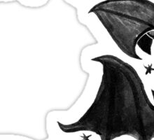 Bat Moon Sticker