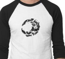 Bat Moon Men's Baseball ¾ T-Shirt