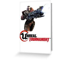 Unreal Tournament Greeting Card