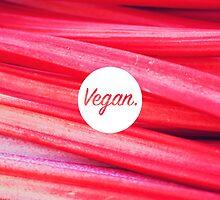 Vegan. - Rhubarb Fill by cclecombe