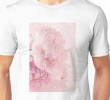 Artsy Multi Pink Peonies  Unisex T-Shirt