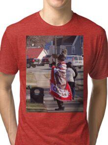 Go Chucks! Tri-blend T-Shirt