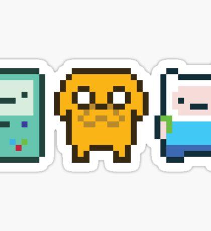 8-bit Jake Finn & Beemo Sticker