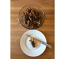 Chinese Spicy Chicken Feet Photographic Print