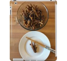 Chinese Spicy Chicken Feet iPad Case/Skin