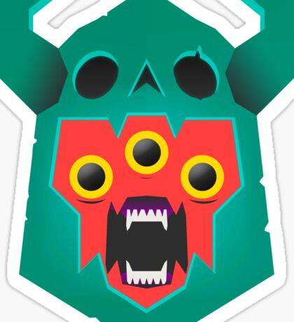 The End - Colour Version Sticker