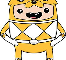 Morphin' Time - Adventure Time Power Rangers Jake Suit by geraldbriones
