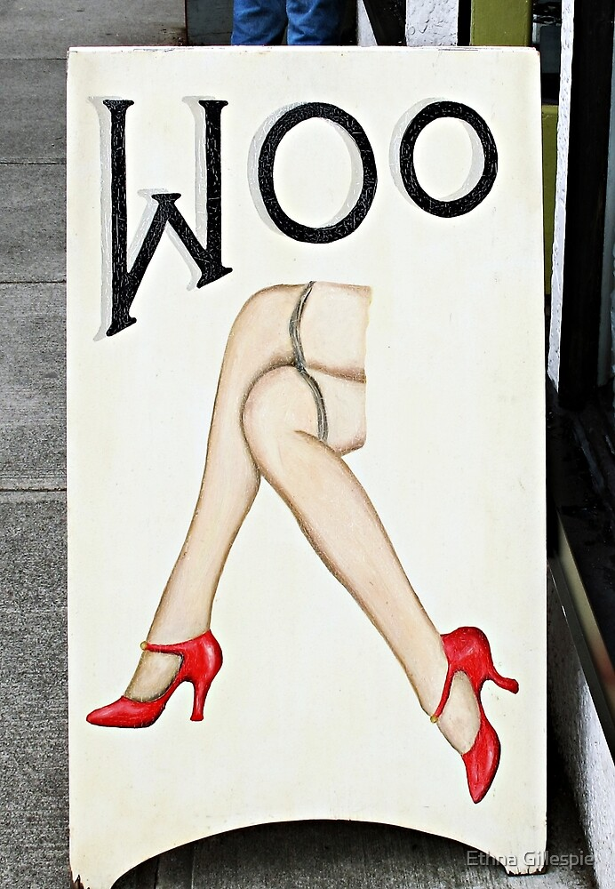 Woo  by Ethna Gillespie