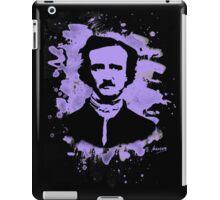 Edgar Allan Poe Tribute (violet) iPad Case/Skin